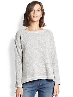 Eileen Fisher - Cotton Boxy Top