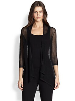 Eileen Fisher - Long Mesh Cardigan