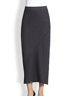 Eileen Fisher - Diagonal-Seam Skirt