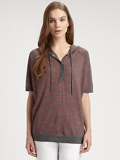Eileen Fisher - Merino Wool Striped Sweater