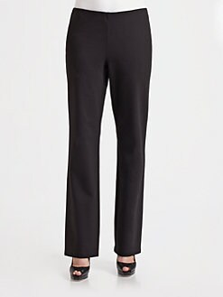 Eileen Fisher - Straight Knit Pants