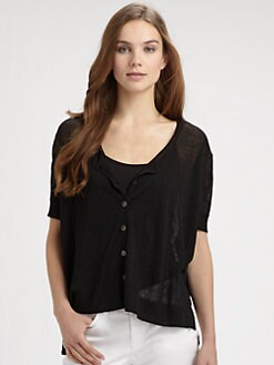 Eileen Fisher - Sheer Cardigan