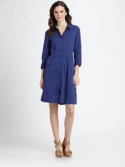 Eileen Fisher - Stretch Shirtdress