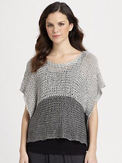 Eileen Fisher - Open-Twist Cropped Top