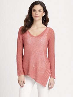 Eileen Fisher - Asymmetrical Knit Sweater