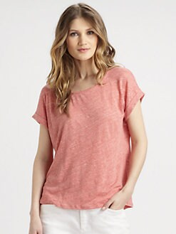 Eileen Fisher - Linen Tee