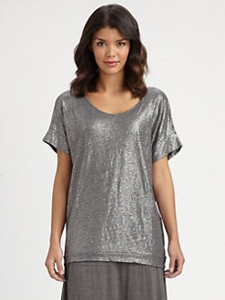 Eileen Fisher - Shimmering Wedge Top