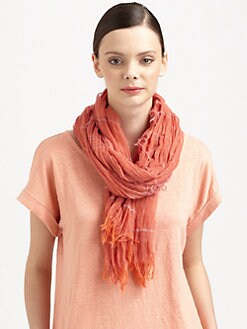 Eileen Fisher - Organic Cotton Knit Scarf