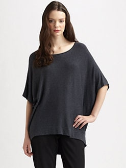 Eileen Fisher - Heathered Stretch Sweater