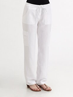 Eileen Fisher - Tencel/Linen Cargo Pants
