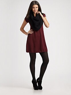Eileen Fisher - Wool Sweater Dress