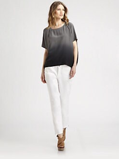 Eileen Fisher - Silk Ombre Top
