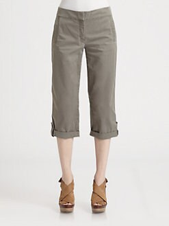 Eileen Fisher - Cuffed Capri Pants