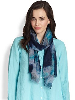Eileen Fisher - Printed Scarf