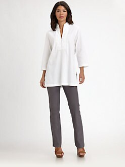 Eileen Fisher - Stand-Collar Tunic