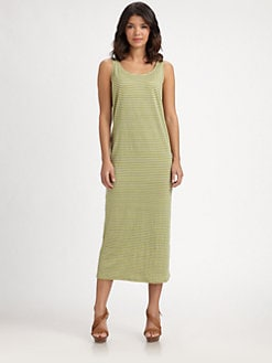 Eileen Fisher - Striped Linen Dress