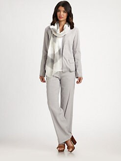 Eileen Fisher - Cinched-Waist Jacket