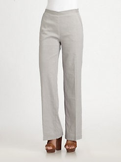 Eileen Fisher - Straight-Leg Pants