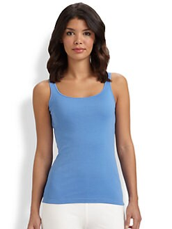 Eileen Fisher - Organic Cotton Tank Top
