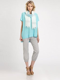 Eileen Fisher - The Notch Linen Tunic
