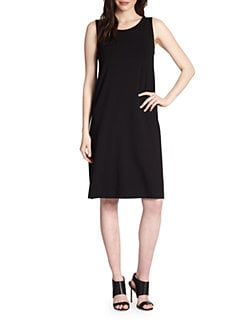Eileen Fisher - Sleeveless Jersey Shift Dress