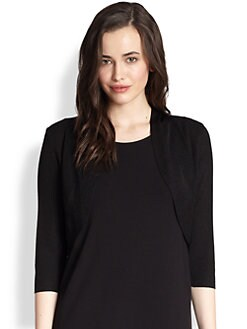 Eileen Fisher - Crinkle-Knit Shrug