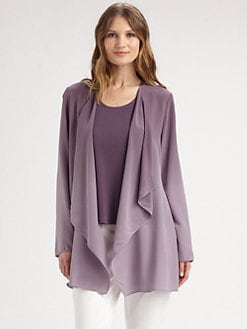 Eileen Fisher - Silk Ombre Jacket