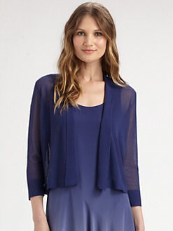 Eileen Fisher - Cropped Shawl Cardigan