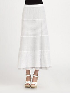 Eileen Fisher - Linen Tiered Maxi Skirt