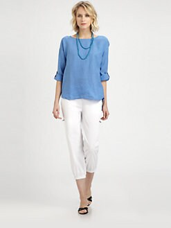 Eileen Fisher - Irish Linen Top