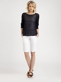 Eileen Fisher - Linen Raglan Sweater