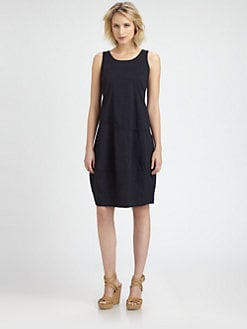 Eileen Fisher - Sleeveless Lantern Dress