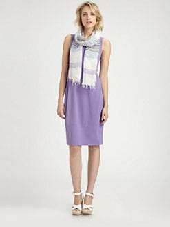 Eileen Fisher - Sleeveless Oval Dress