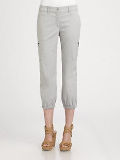 Eileen Fisher - Cropped Cargo Pants