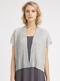 Eileen Fisher - Crinkled Cardigan
