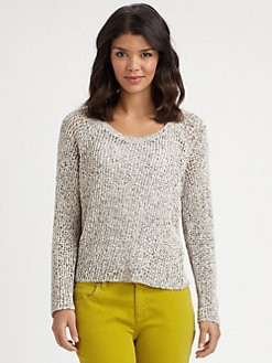 Eileen Fisher - Cotton Raglan Sweater
