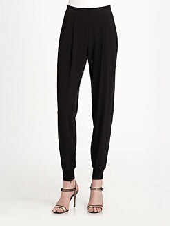 Eileen Fisher - Silk Cuffed Ankle Pants