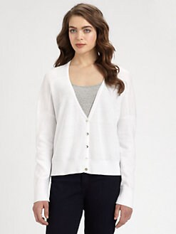 Eileen Fisher - Dolman-Sleeved Waffle-Knit Linen Cardigan