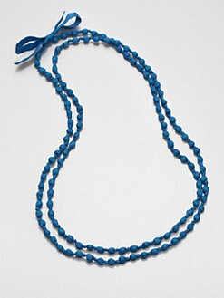 Eileen Fisher - Silk Beaded Necklace