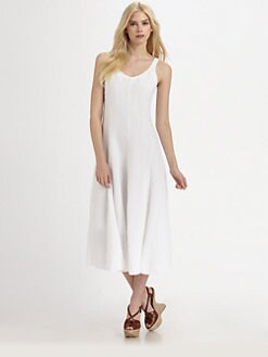 Eileen Fisher - Handkerchief Linen Dress