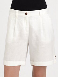 Eileen Fisher - Linen City Shorts
