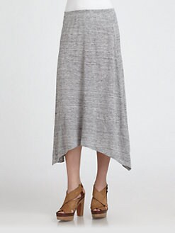 Eileen Fisher - Linen Handkerchief-Hem Skirt