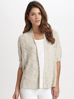 Eileen Fisher - Boxy Open-Front Cardigan