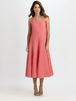 Eileen Fisher - Sleeveless Linen Dress