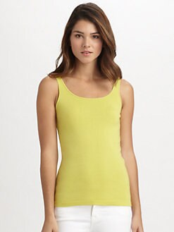 Eileen Fisher - Scoopneck Slim Tank Top