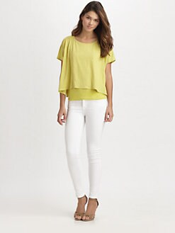 Eileen Fisher - Linen Poncho Top