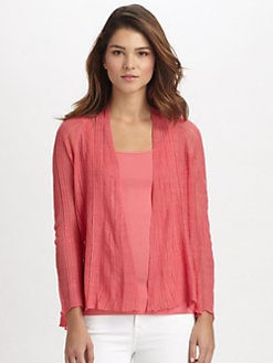 Eileen Fisher - Linen/Silk Raglan Cardigan