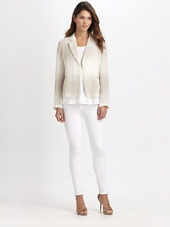 Eileen Fisher - Notched-Collar Jacket