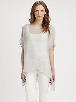 Eileen Fisher - Lightweight Woven Tunic