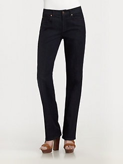 Eileen Fisher - Straight-Leg Jeans